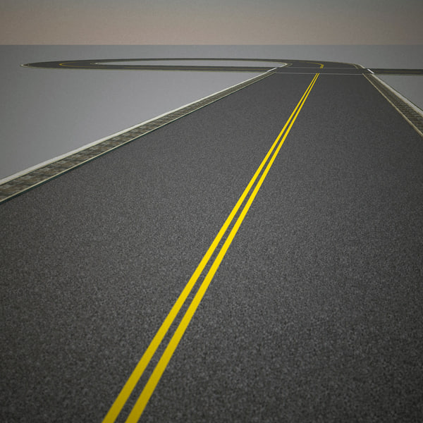 road v3 3d model - Road Collection V3... by 3d_molier