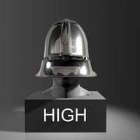 german-schaller-helmet 3d model