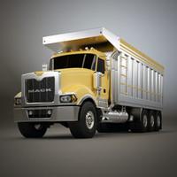 3d model truck titan dump