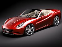 Ferrari California midpoly