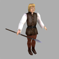 light infantry 3d model