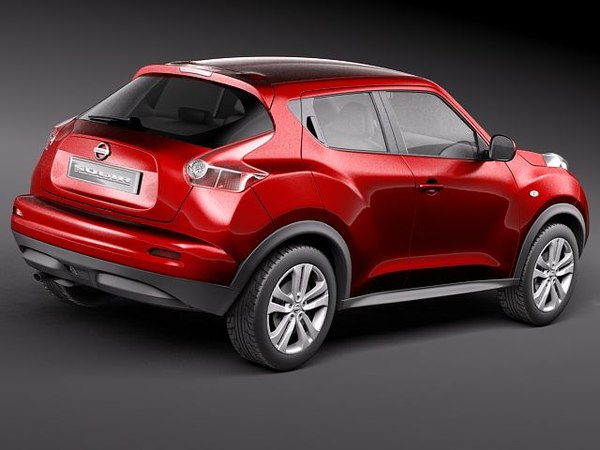 3d nissan juke 2011 suv model. Black Bedroom Furniture Sets. Home Design Ideas