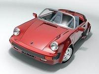 porsche 911 1980 sport 3d model