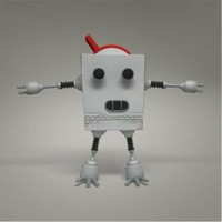 maya robot character