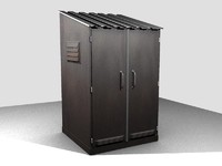 metal wardrobe 3d model
