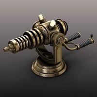3d gun brass