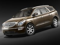 3ds max buick enclave 2009