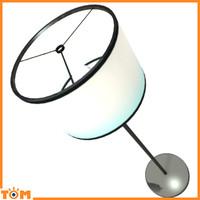modern light bulb lamp 3d blend