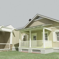 3ds max plantation house 2