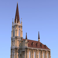 3d cathedral church