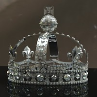 3d model diamond crown