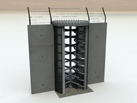 3d model tourniquet security check