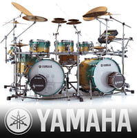 3ds acoustic drum sets yamaha