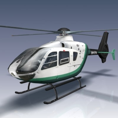eurocopter ec135 3d max - Eurocopter EC 135... by Bounding Box