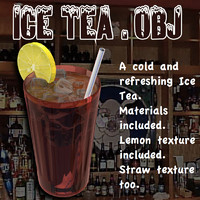 icetea ice tea obj