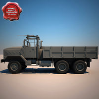 M923 A1 Cargo Truck V4