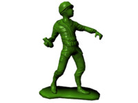 Plastic Army Man - Grenadier
