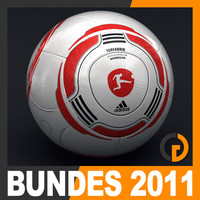 2010 2011 Bundesliga Match Ball