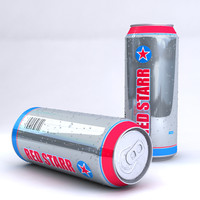 Unbranded Beer Can
