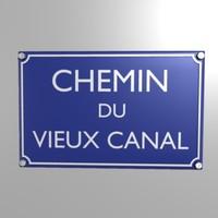 Chemin du vieux canal