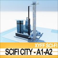 Xyff SciFi City A1 and A2