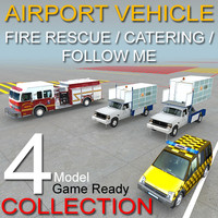 3d model of 4 rescue catering follow
