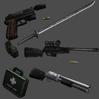 "Newhere""s Weapon models (FREE)"