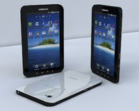 3d samsung galaxy tab model