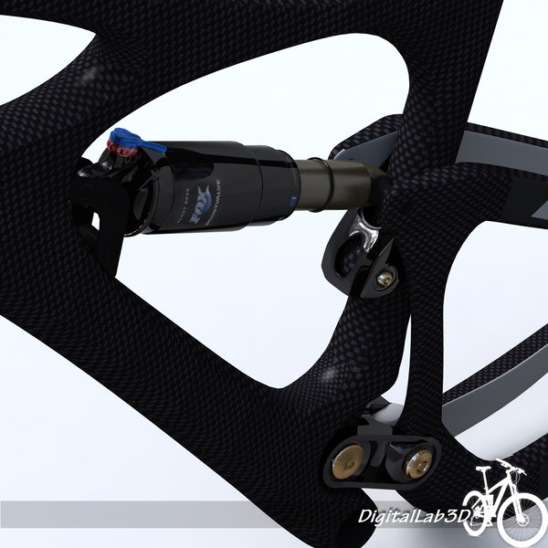 bike frame mojo hd 3d 3ds - Bike Frame Mojo HD... by digitallab3d