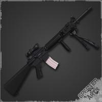 3d marksman rifle m16a4 sdm-r