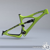 bike frame mojo hd 3d model