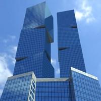 3dsmax skyscraper building