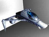 3dsmax avon spacecraft