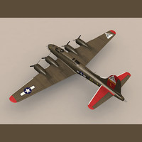 3d b-17g flying fortress b-17