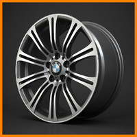 bmw styling 220 rim 3d model
