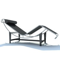 le corbusier chair 3d model