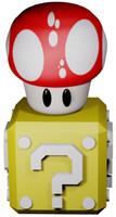 Mushroom-Box Animeted