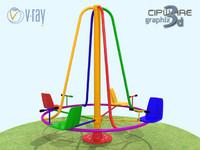rotation 2 3d model
