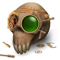 Skull: Steampunk style