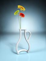 3ds max vase silhouette