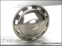 wheel 20 3d model