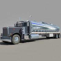 3d tanker truck