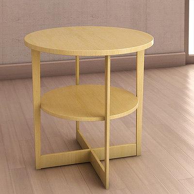Ikea Vejmon Table 3d Model