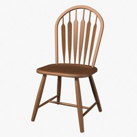 bow chair 3d model