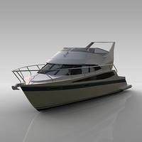 yacht super sport 3d model