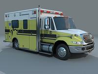 3d ambulance aev navistar 4300