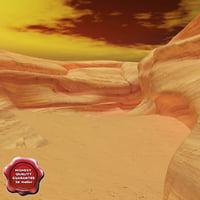 3d model canyon v2