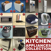Kitchen Appliances Collection V2