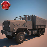 3ds max m923 a1 cargo truck