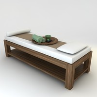 Massage Spa Bed Collection Scene